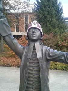 """God hath no favourites but I do. Hail State."" - A totally true saying by John Wesley. Totally. I read it."