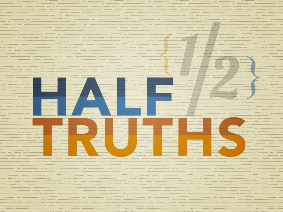 Sermon – Half Truths: God Won't Give You More than You Can Handle